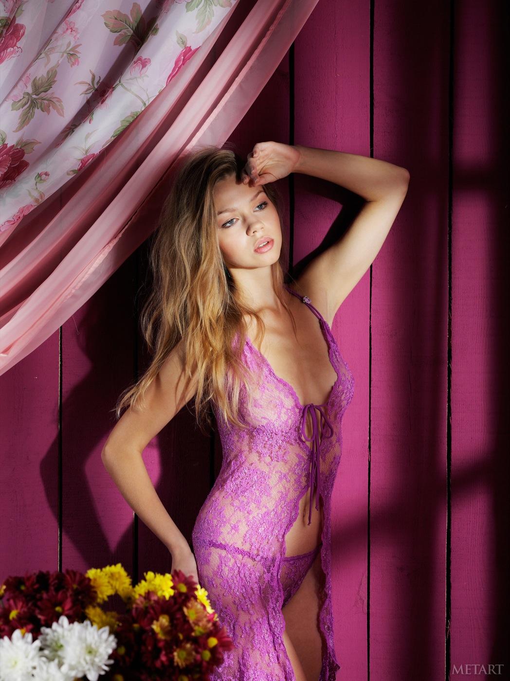 Amelia C in lingerie