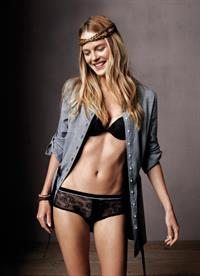Shannan Click in lingerie
