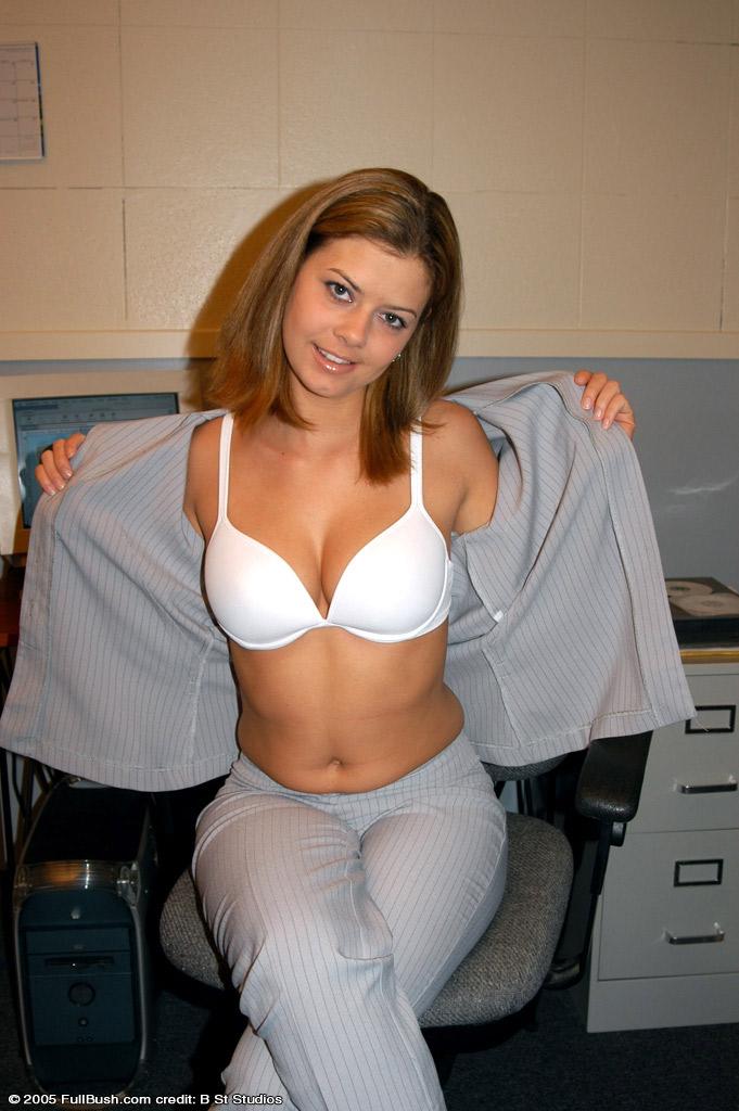 Jessica Cooper in lingerie