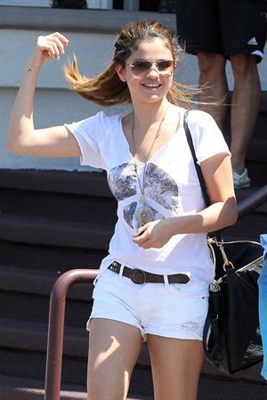 Selena Gomez in Encino California on July 23, 2012