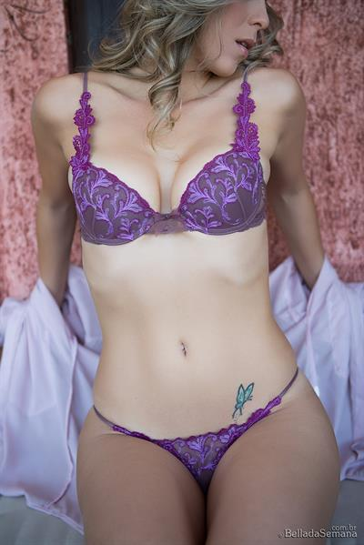 Jocasta Doyle in lingerie