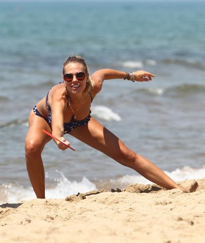 Ilary Blasi in a bikini