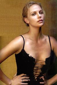 Charlize Theron in lingerie