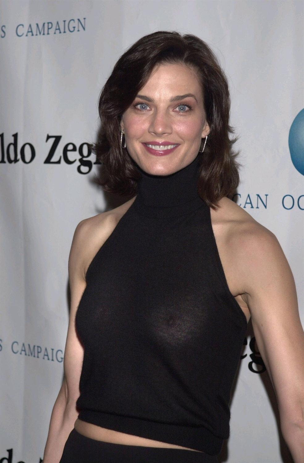 Terry Farrell - breasts
