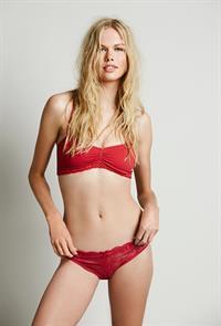 Emma Stern Nielsen in lingerie