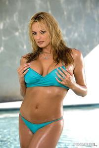 Stormy Daniels in a bikini