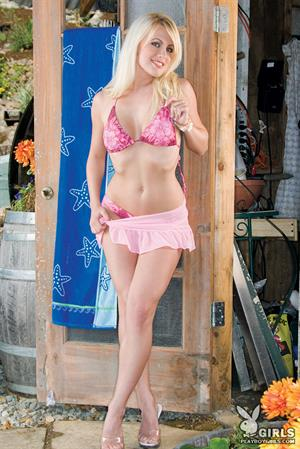 Gabrielle Ford in Pink