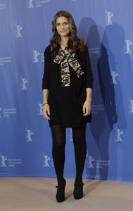 Amanda Peet attends the International Film Festival in Berlin on Feburary 16, 2010