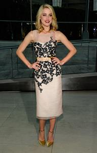 Amber Heard CFDA Fashion Awards at Alice Tully Hall Lincoln Center on June 6, 2011