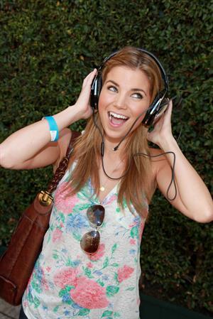 Amber Lancaster Kari Feinstein Primetime Emmy Awards Style Lounge day 1 on August 26, 2010