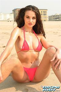 Sanja Matice in a bikini