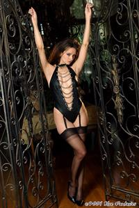 Sanja Matice in lingerie