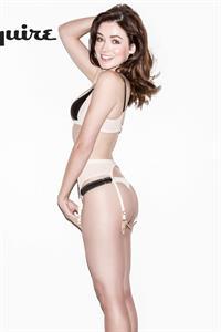 Sarah Lee Bolger in lingerie
