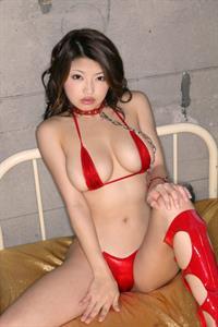 Alice Hoshi in a bikini