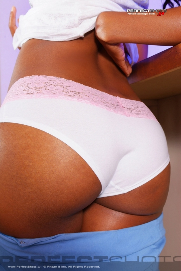 Ayisha Cottontail in lingerie - ass