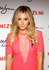Ashley Tisdale - Unmasking Mizumi Restaurant in Las Vegas June 7, 2012