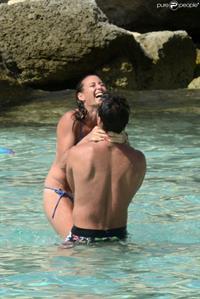 Fabio Fognini in a bikini