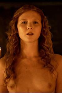 Isolda Dychauk - breasts