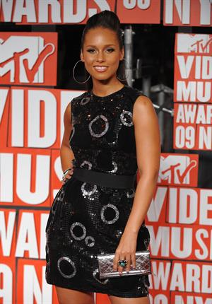 Alicia Keys MTV Video Music Awards at Radio City Music Hall in New York City