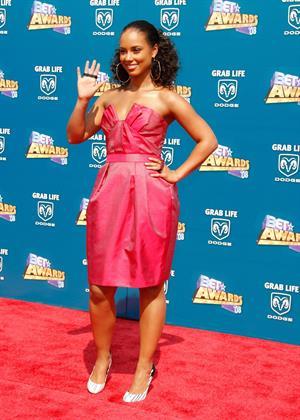 Alicia Keys 2008 BET Awards arrivals in Los Angeles on June 24, 2008