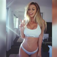 Rosanna Arkle in a bikini