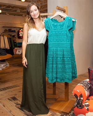 Olivia Wilde Anthropologie Collection Launch in Los Angeles - October 21, 2013