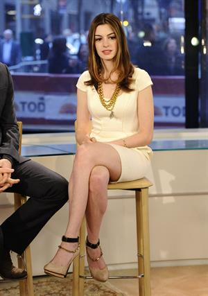 Anne Hathaway appears on NBC News Today Show on November 18, 2010