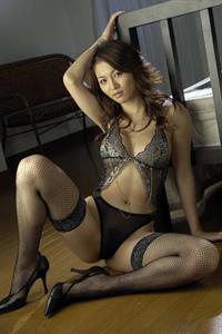 Yuki Touma in lingerie