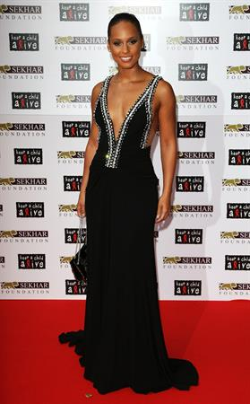 Alicia Keys Keep a Child Alive Black Ball in London