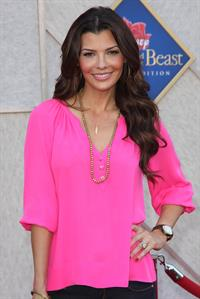 Ali Landry premiere of the Beauty and the Beast Sing Along on October 2, 2010