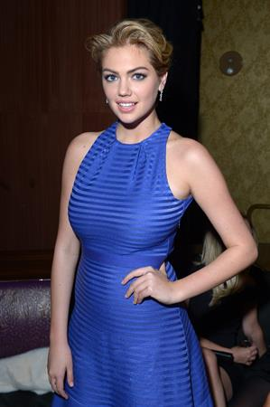 Kate Upton SI Swimsuit on Location at the Marquee Nightclub in Las Vegas on February 13, 2013