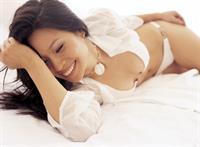 Lucy Liu in a bikini