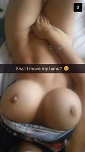 Anonymous taking a selfie and - breasts