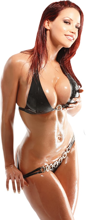 Bianca Beauchamp in a bikini