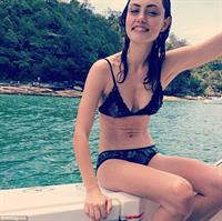 Phoebe Tonkin in a bikini
