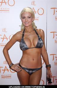 Holly Madison in a bikini