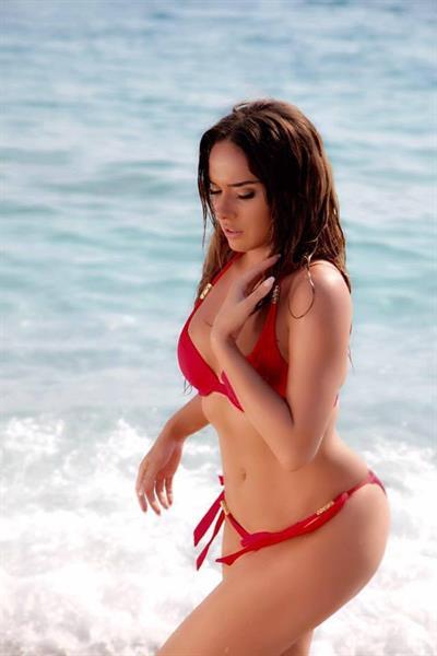 Ilda Bejleri in a bikini