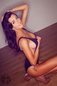 Lauren Houldsworth in a bikini