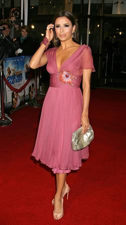 Eva Longoria attending the Over Her Dead Body premiere