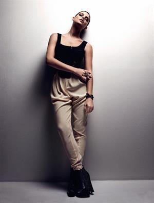 Ashley Greene photoshoot for ASOS Magazine