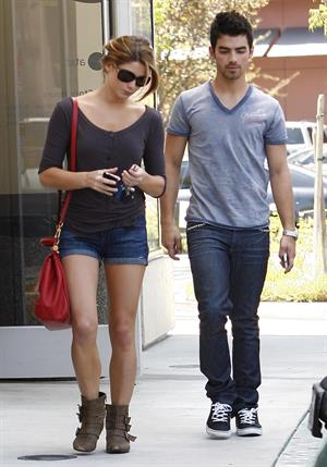 Ashley Greene walking around in Studio City on August 9, 2010