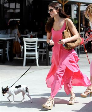 Ashley Greene outside Toast Restaurant in Los Angeles on June 13, 2012