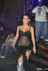 Larissa Riquelme in lingerie