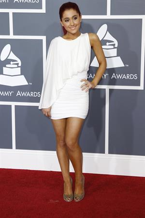 Ariana Grande 53rd annual Grammy Awards on February 13, 2011