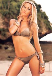 Kim Engelbosch in a bikini