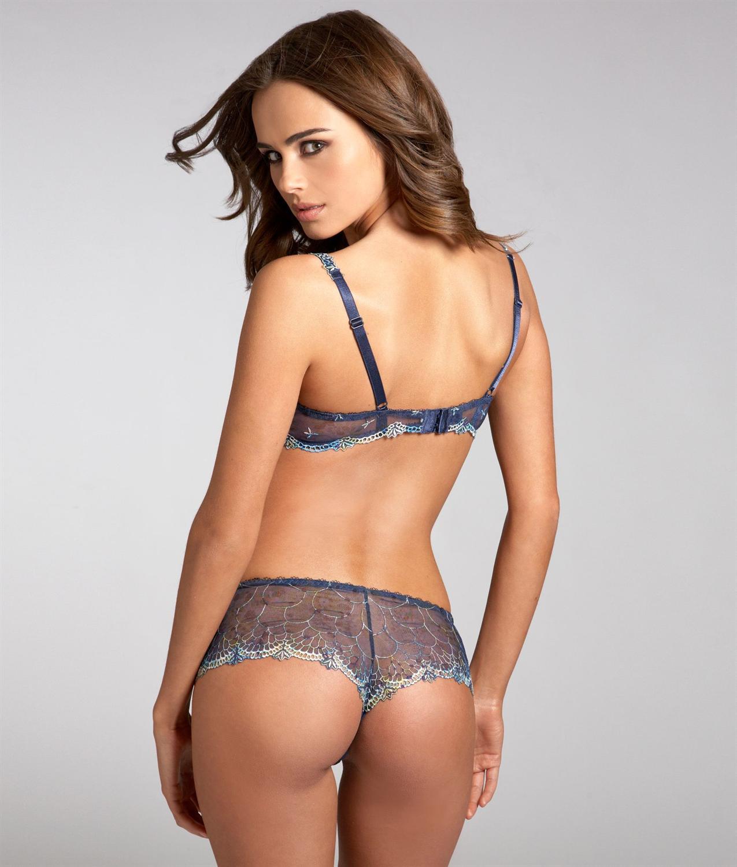 Xenia Deli in lingerie