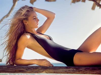 Brittney Weed in a bikini