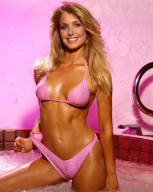 Heather Thomas in a bikini