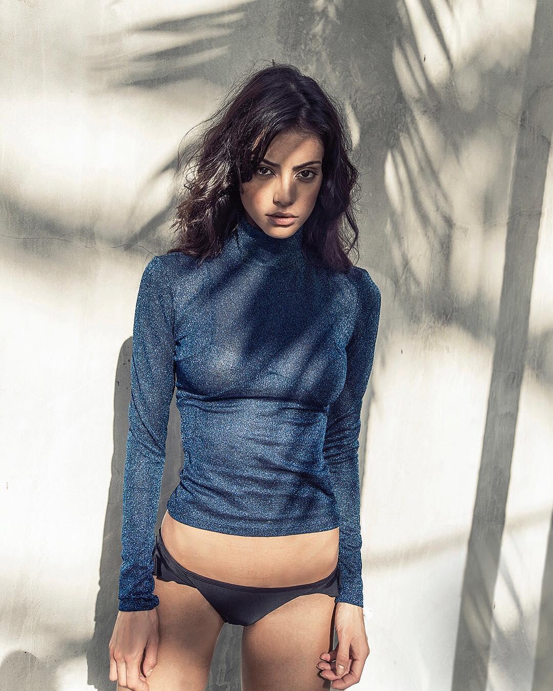 Mayra Suárez in a bikini