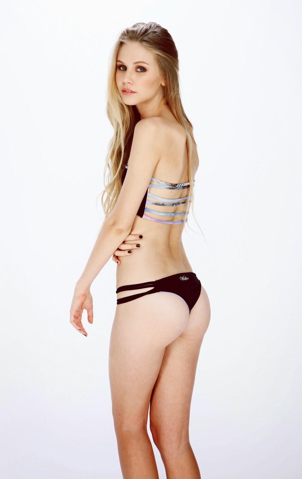Scarlett Rose Leithold in lingerie - ass